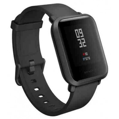Умные часы Xiaomi Amazfit Bip Global Version Cinnabar Black (Черный) в Томске