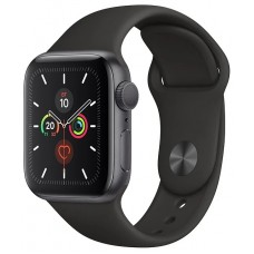 Apple Watch Series 5 GPS + Cellular 40mm Aluminum Case with Sport Band Space Grey MWV82