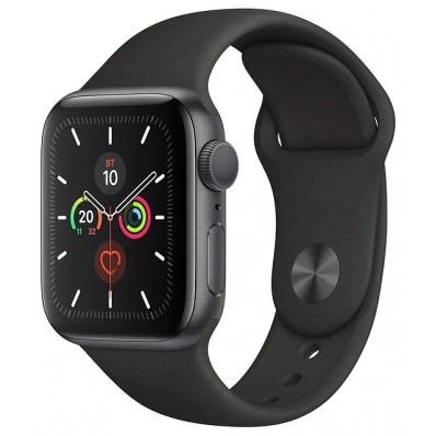 Apple Watch Series 5 GPS + Cellular 40mm Aluminum Case with Sport Band Space Grey MWV82 в Томске