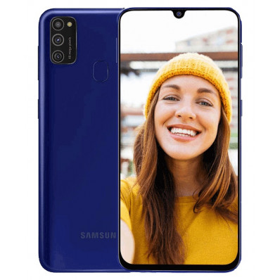 Samsung Galaxy M21 4/64Gb Синий в Томске